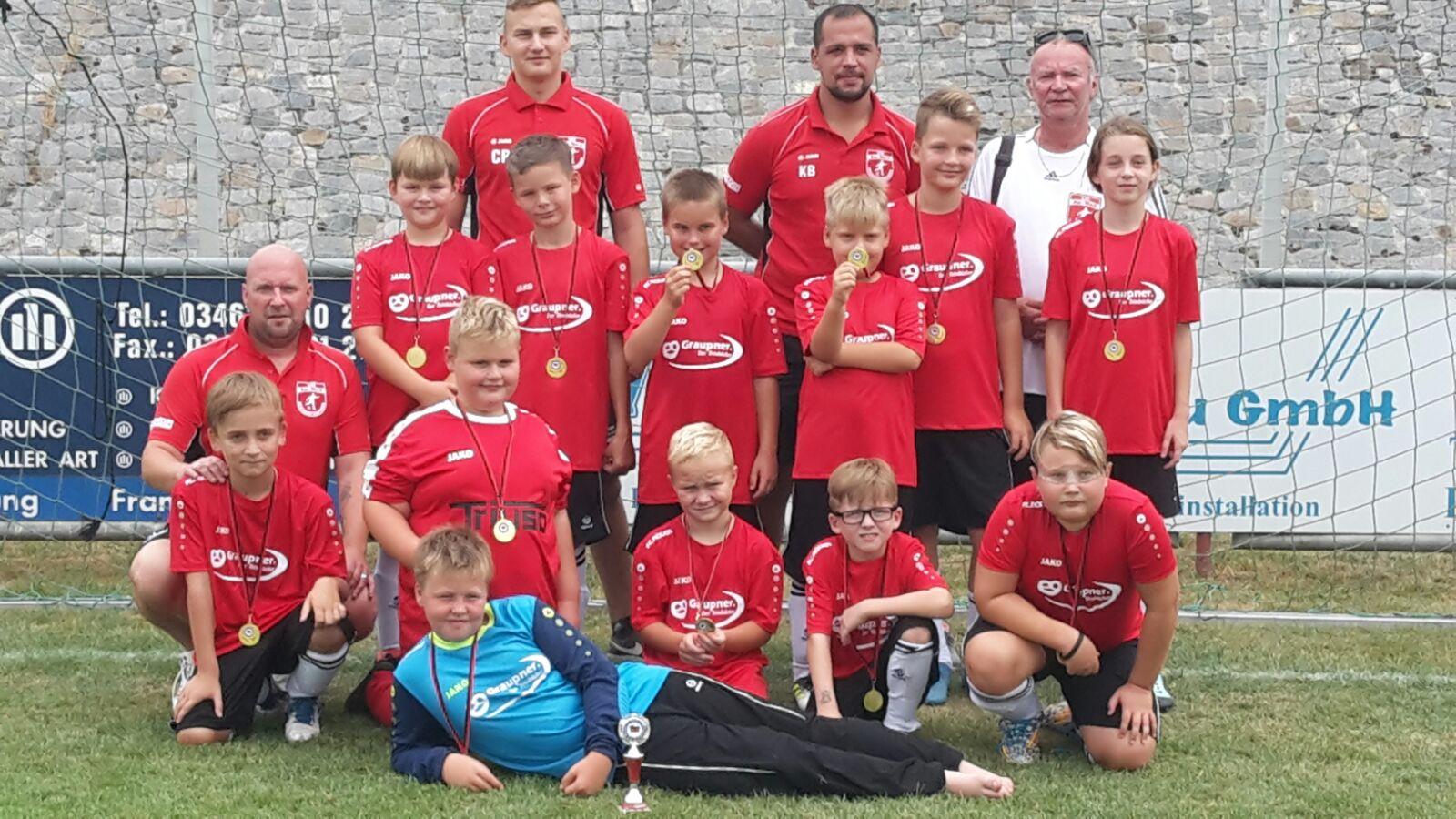 Turnier F-Jugend @ Sportplatz Buna Halle